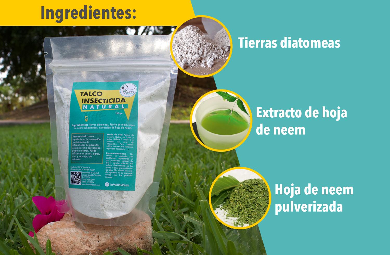 Talco insecticida